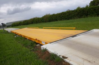 Surface Mounted Weighbridge site