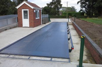 E-G-Hadingham Surface Mounted Weighbridge installation