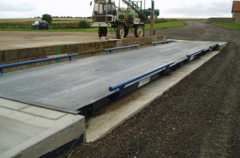 Surface Mounted Weighbridge at ireland farms