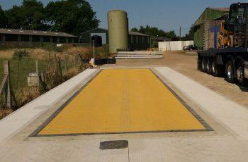 Warden-Farm weighbridge installation
