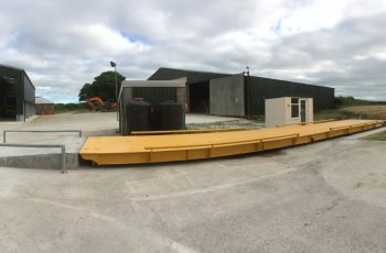 Surface Mounted Weighbridge on agricultural site