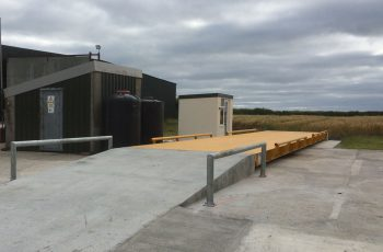 Surface Mounted Weighbridge with ramp